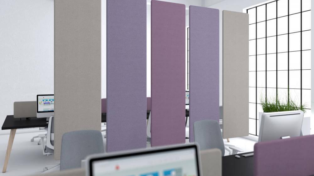 Elementy akustyczne panele tapicerowane Absorpio