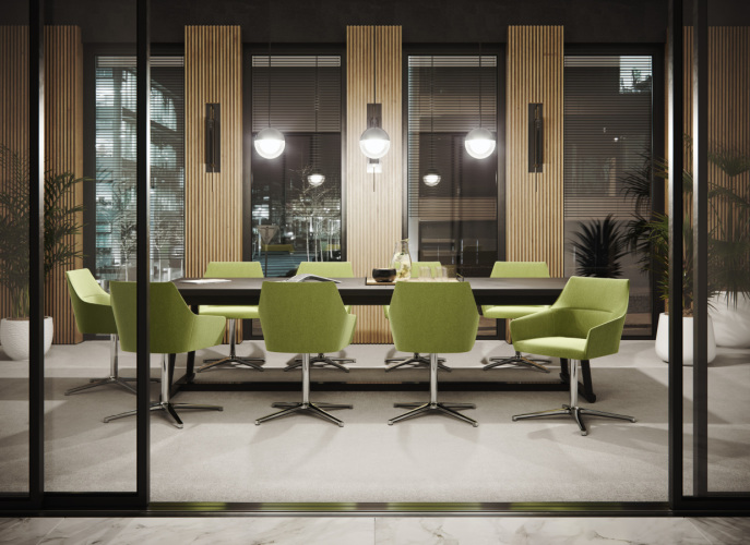 Fotele konferencyjne Chic
