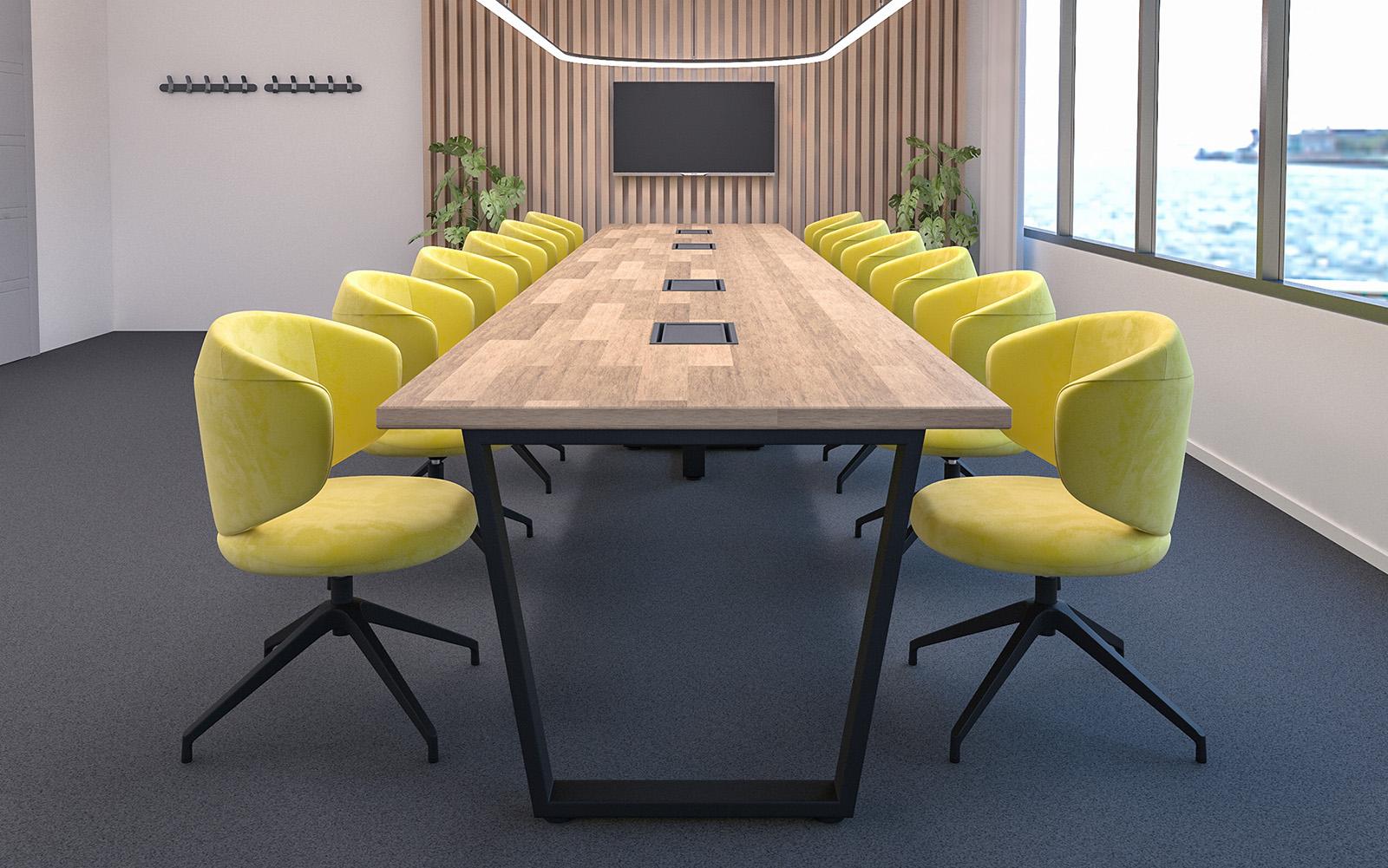 Fotele konferencyjne Clubin