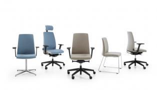 Fotele biurowe LightUp, krzesła pracownicze, meble biurowe, fotele pracownicze Łódź, polskie fotele, polskie meble biurowe.