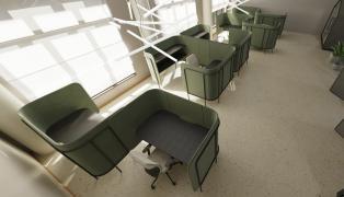 panele akustyczne, panele naścienne, panele ścienne, panele tapicerowane, meble biurowe, meble biurowe Łódź, meble akustyczne, ścianki stojące, panele pionowe, panele sufitowe.